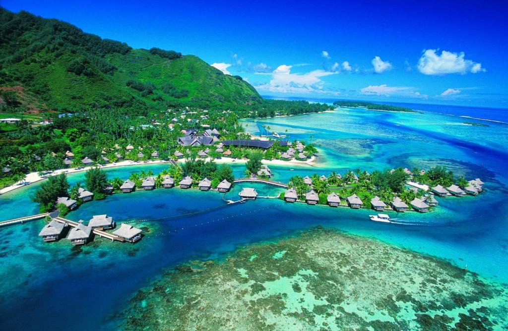 Moorea eiland Tahiti