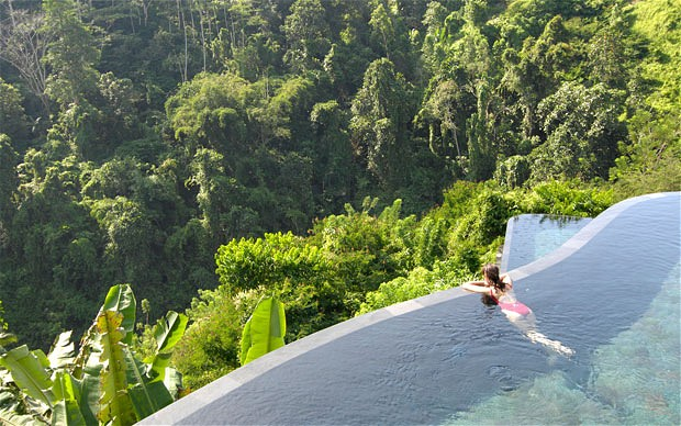 Hanging Gardens resort in Ubud Bali