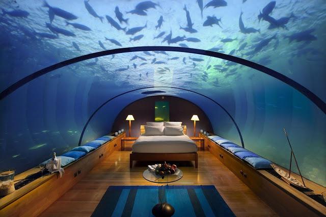 Slapen onder water