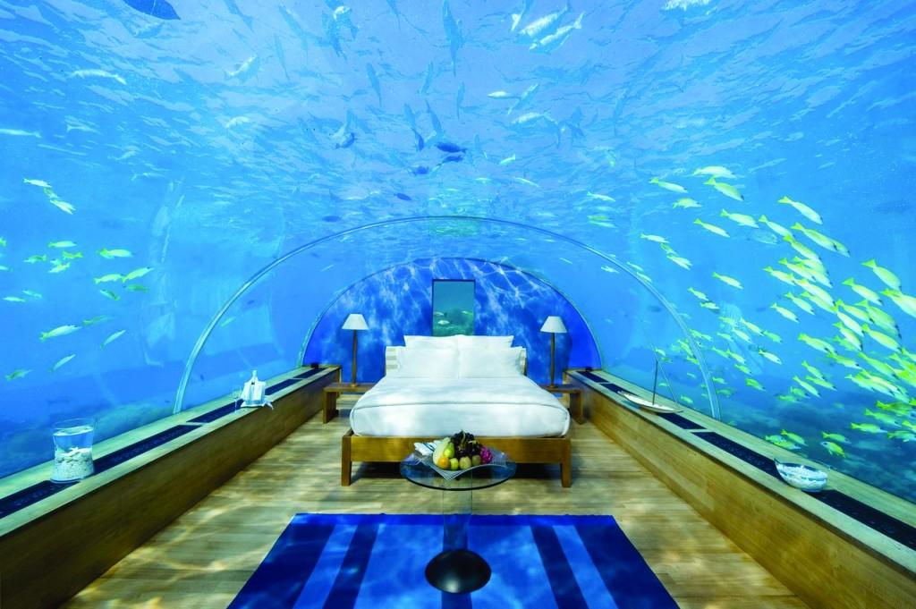 Resort onder water