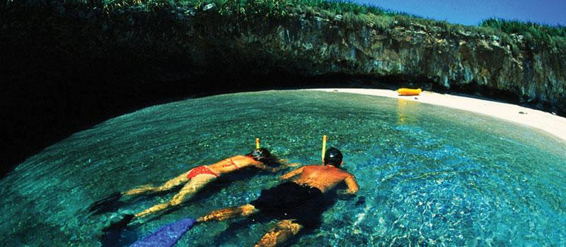 Marita islands hidden beach