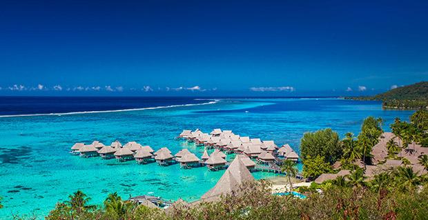 Moorea, Bora Bora