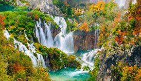 Plitvice meren, Kroatië