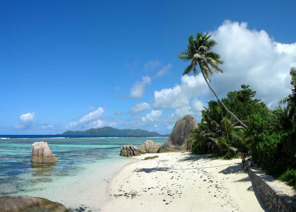 strand op Anse Source d'Argent La Digue