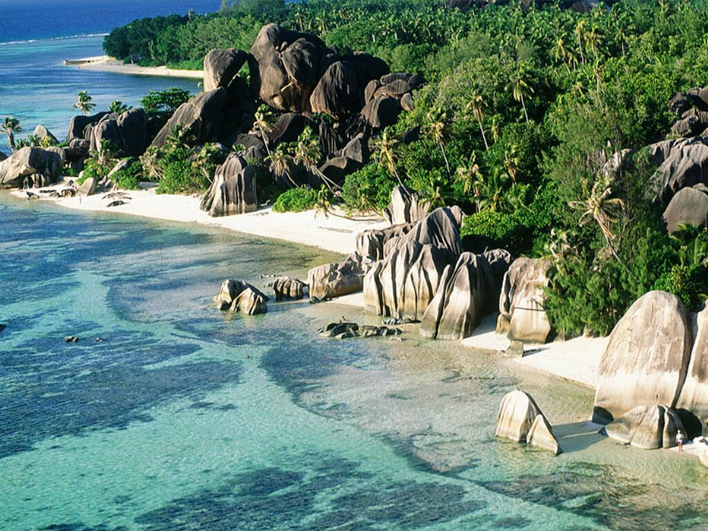 Anse Source d'Argent La Digue strand