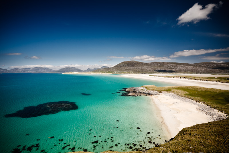 Luskentyre Beach, Isle of Harris (Hebriden / Schotland)