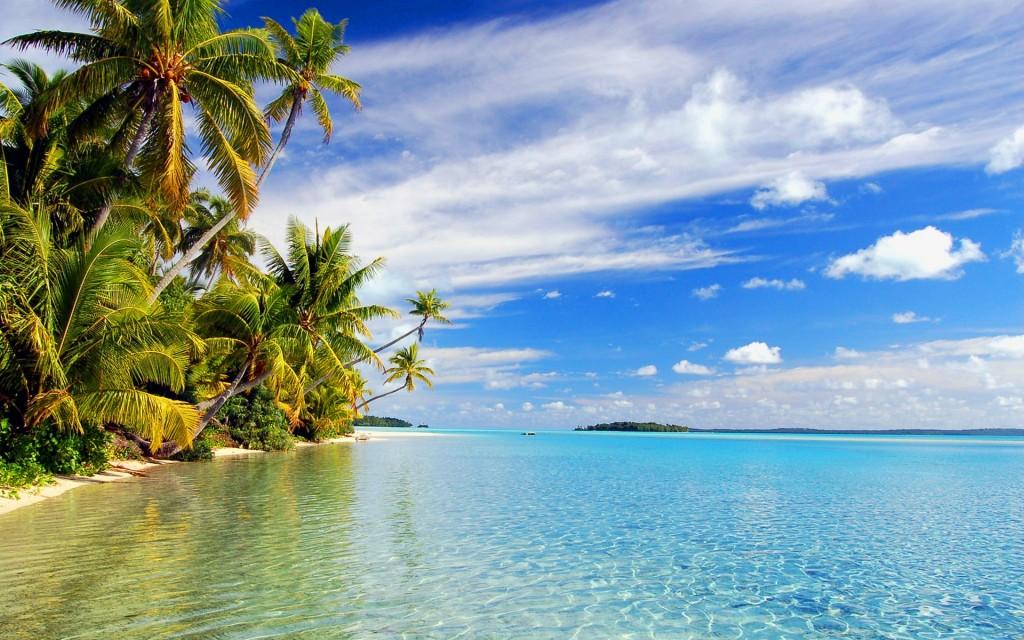 Aitutaki lagoon (Cookeilanden)
