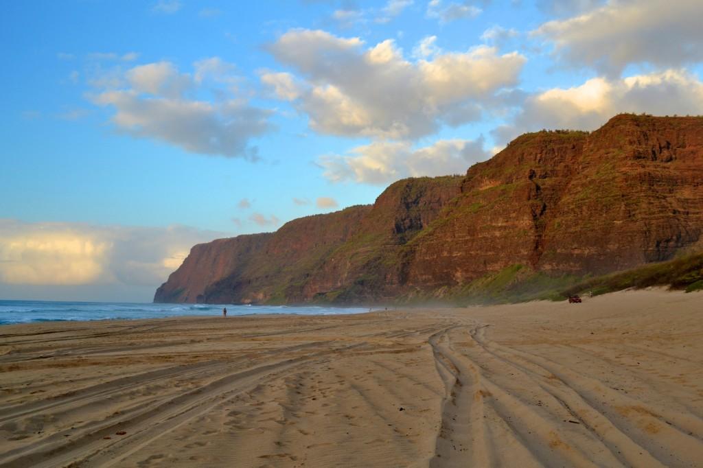 Polihale Beach kauai hawaii