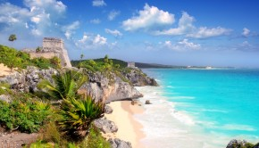 Tulum strand Mexico