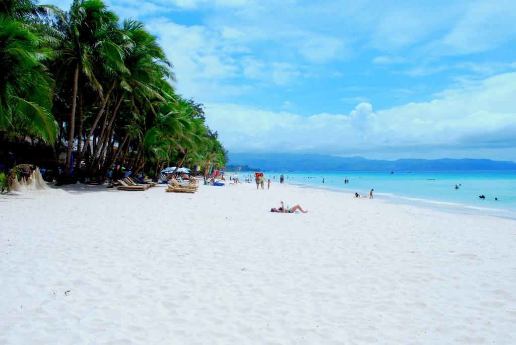 Strand - White Beach, Boracay (Filippijnen)