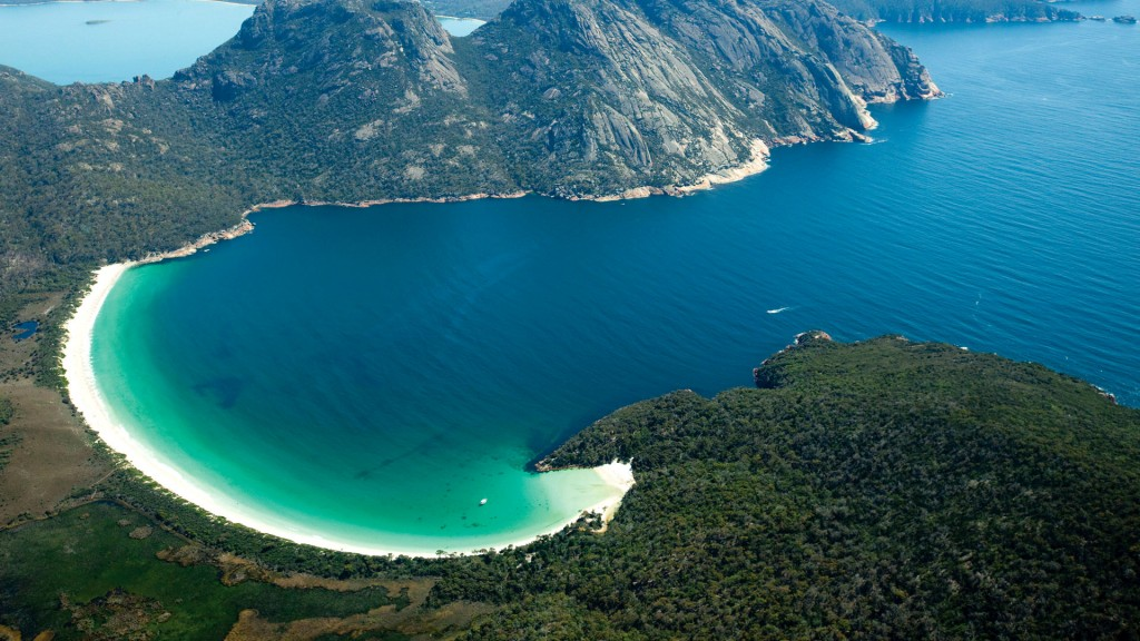 Wineglass Bay Tasmanië