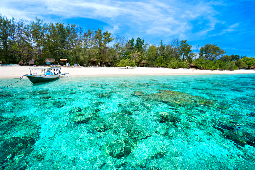 Gili eilanden Indonesië