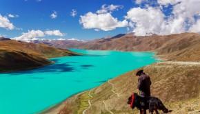 Yamdrok meer tibet