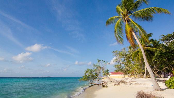 Maafushi eiland