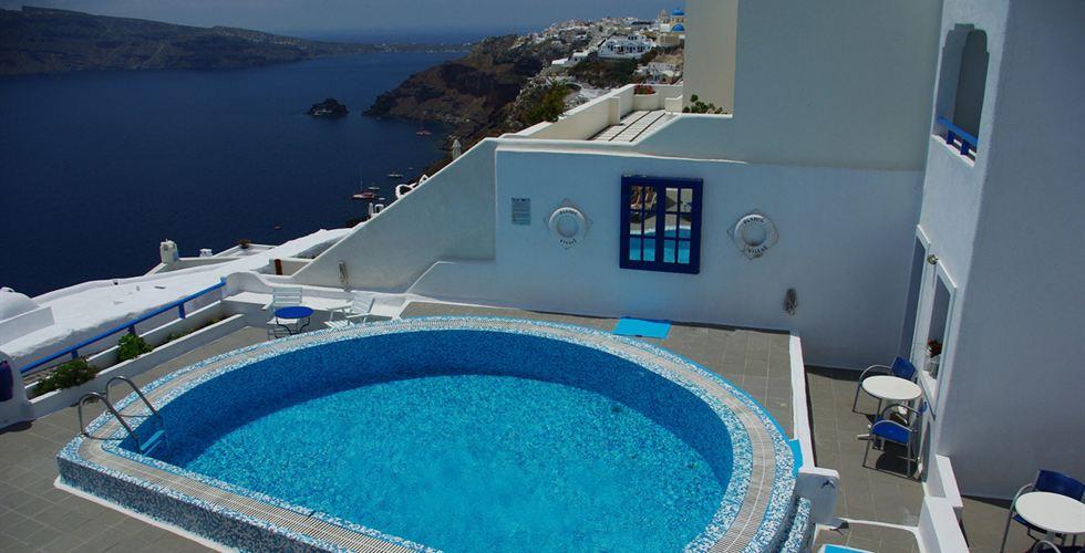 Olympic villa Santorini