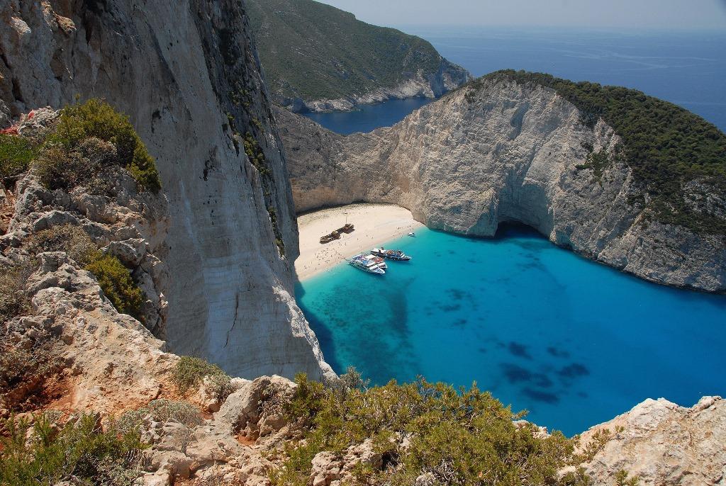 Navagio Beach, Zakynthos (Griekenland)