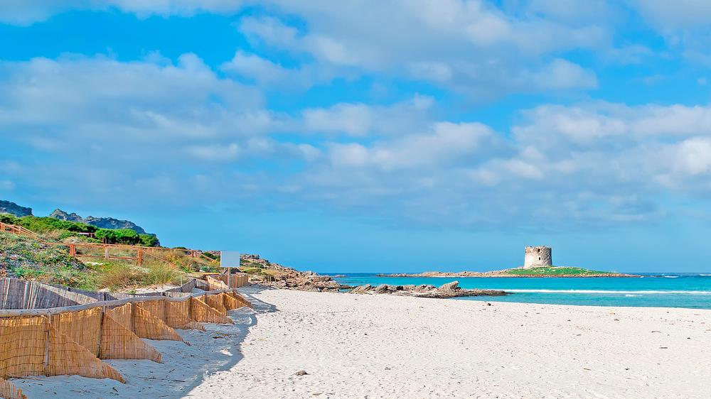 Pelosa Beach Sardinië