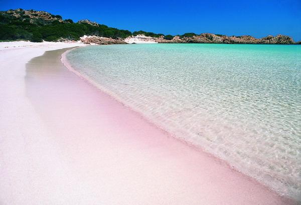 Spiaggia Rosa Sardinië
