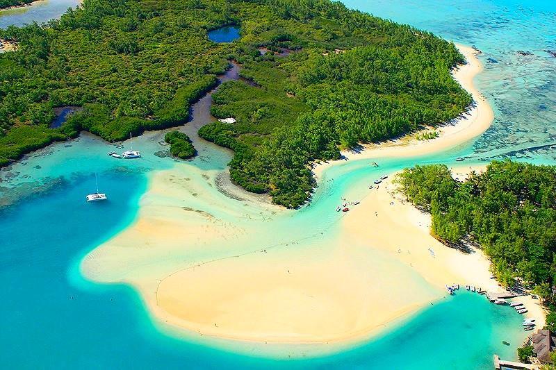 Île aux Cerfs mauritius