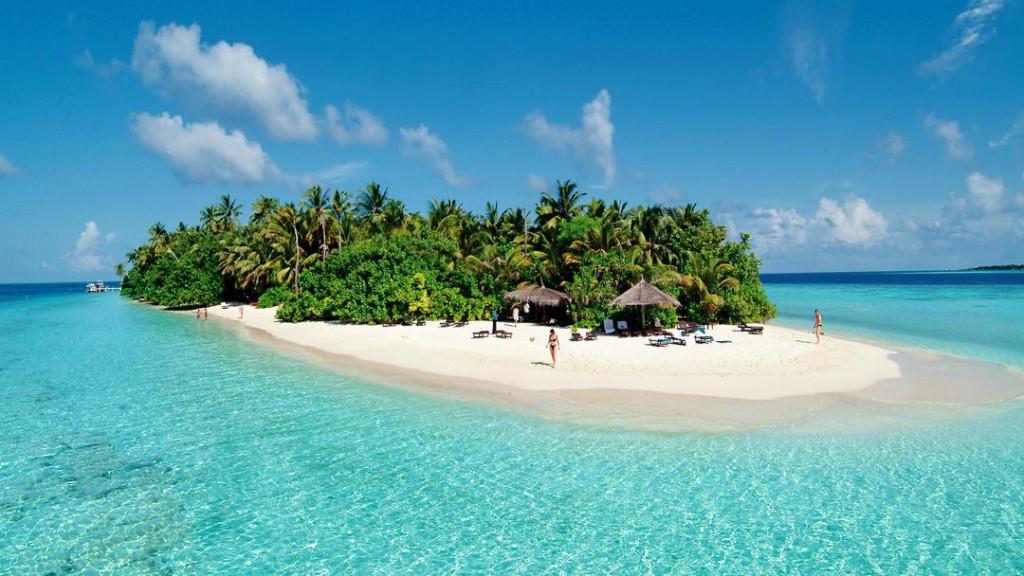Strand Maladiven Eiland