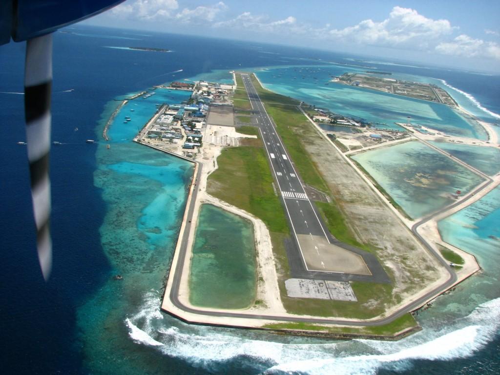 vliegveld Malediven Malé