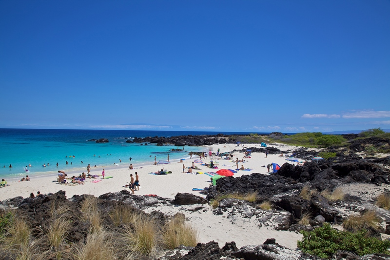 Kua Bay Beach Park hawaii