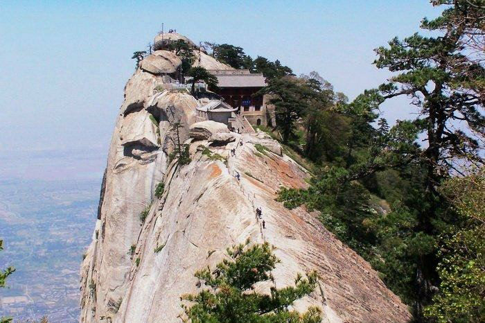 Mount hua shan china top