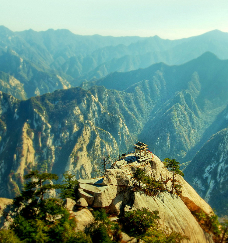 mount hu shan china