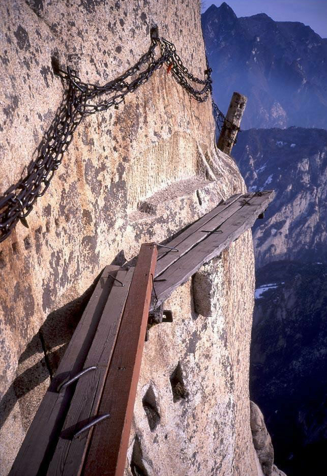 mount huashan china wandelpad