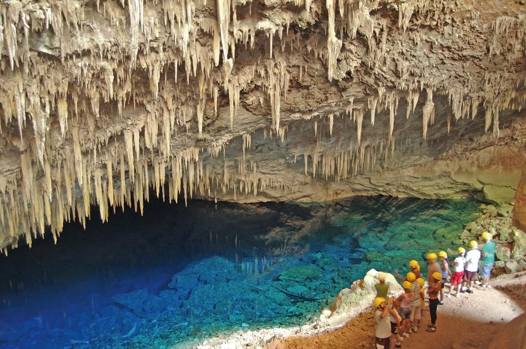 Gruta do Lago Azul Bonito Brazilië