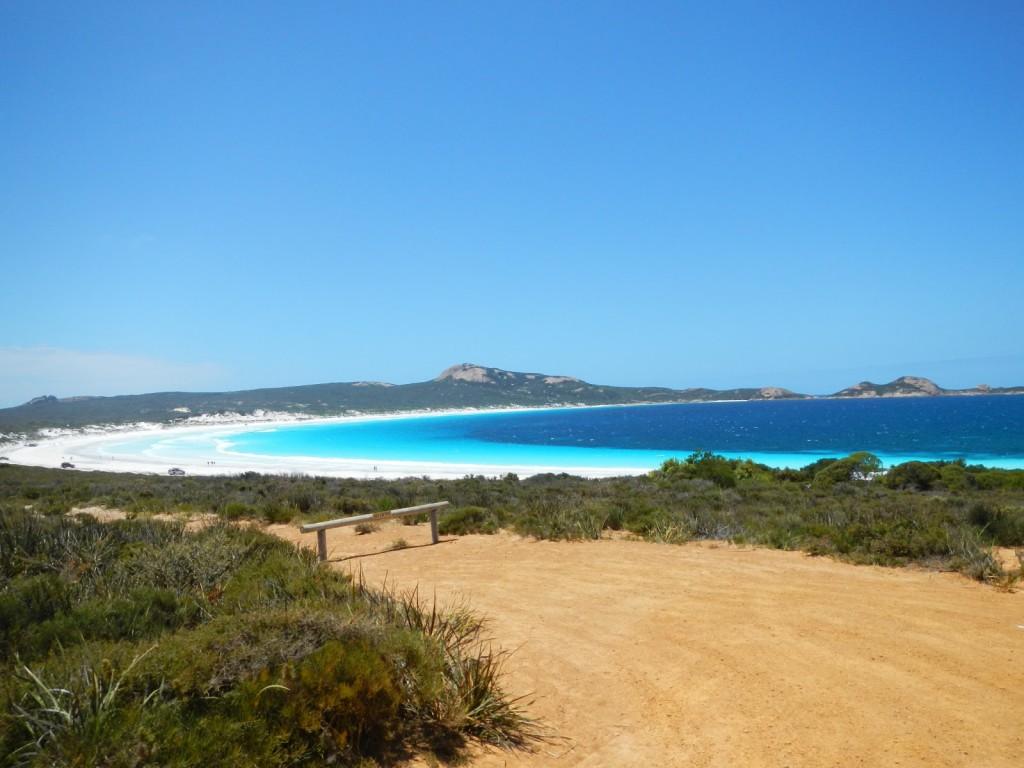 Lucky bay Cape le Grand  australië
