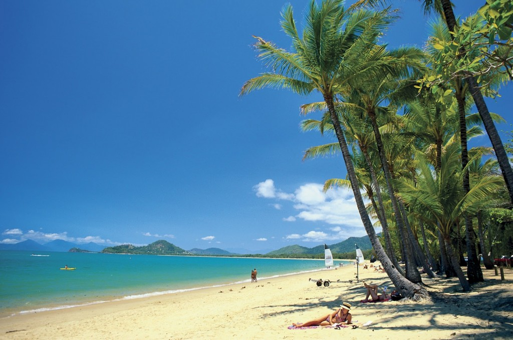 Palm Cove beach Australië