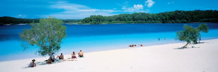 Lake Mckenzie, Fraser Island australië