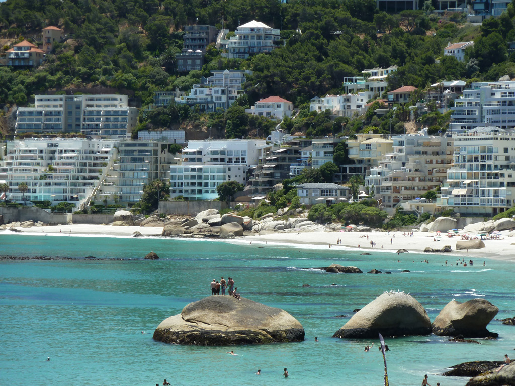 Clifton-Beach zuid afrika