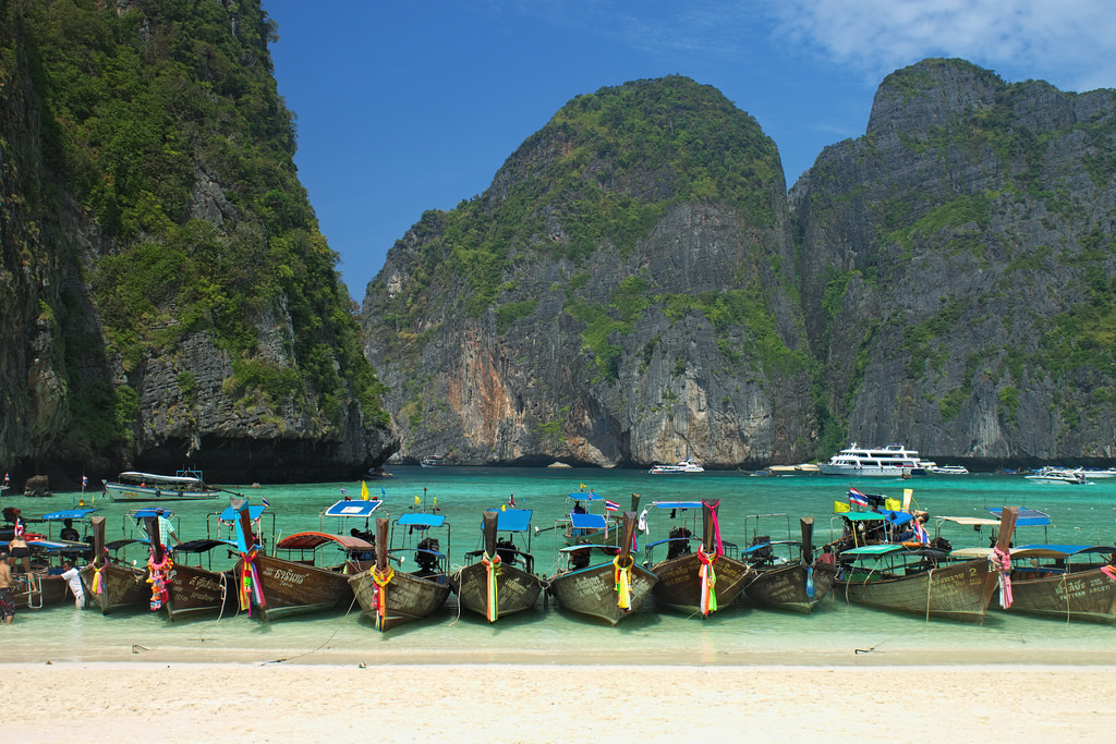 Maya Bay Beach_Flickr_Nicolas Vollmer