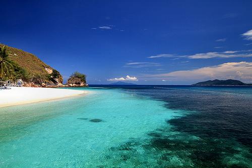 Pulau Mensirip, Oost-Maleisië