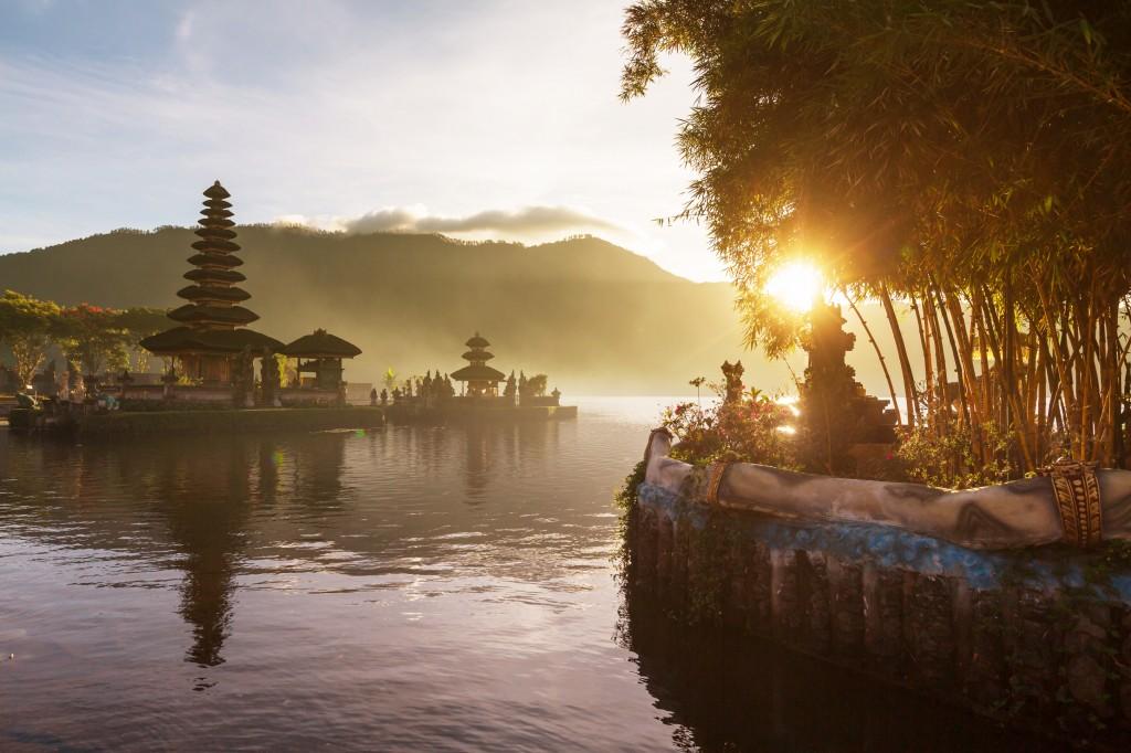 Indonesië - Pura Ulun Danu temple, Bali