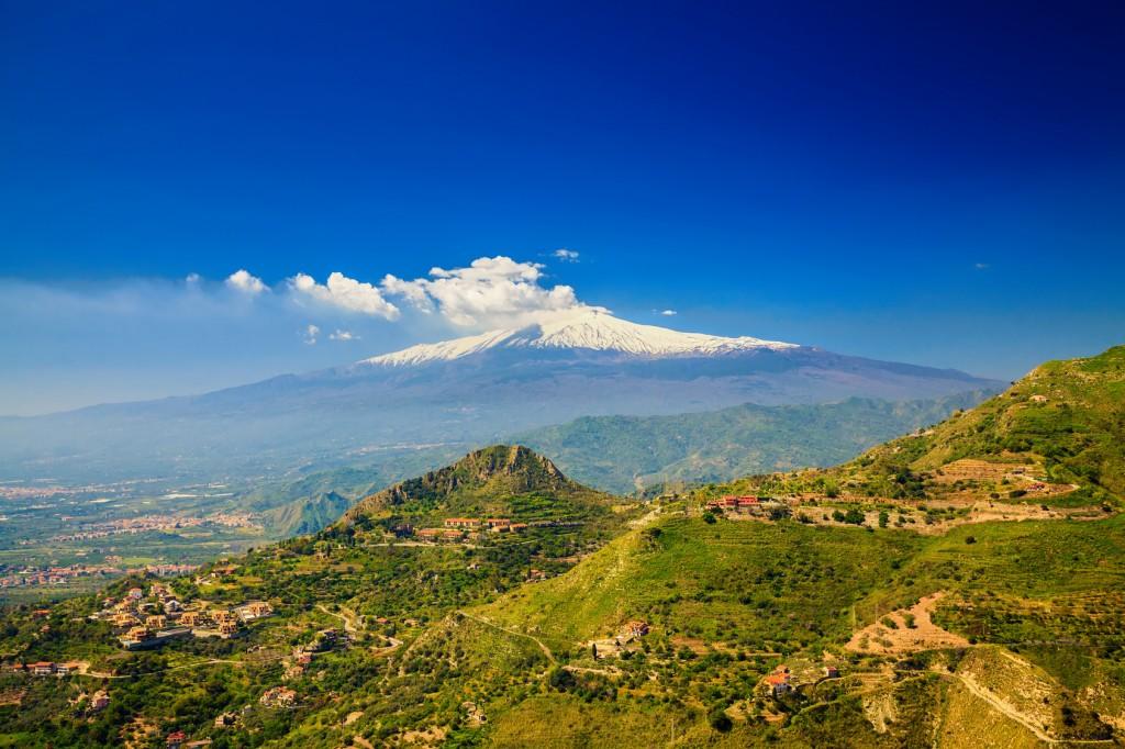 sicilië etna