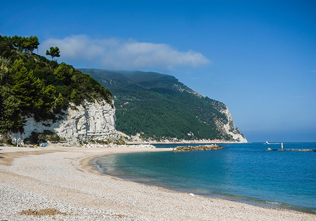 Sirolo strand