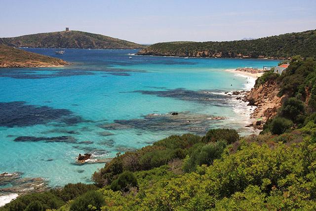 Tuerredda, Sardinië