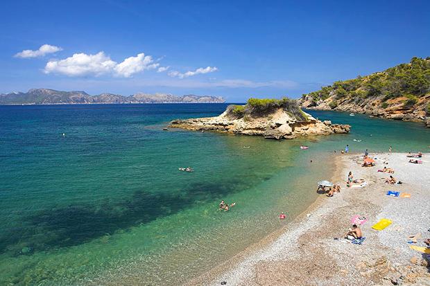 S'illot Beach, Mallorca