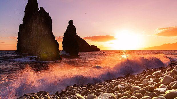 Madeira strand