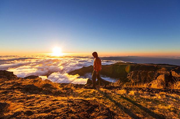 Wandelen door het prachtige landschap van Madeira