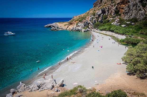Preveli Beach, Kreta