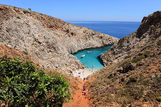 Seitan Limania, Kreta