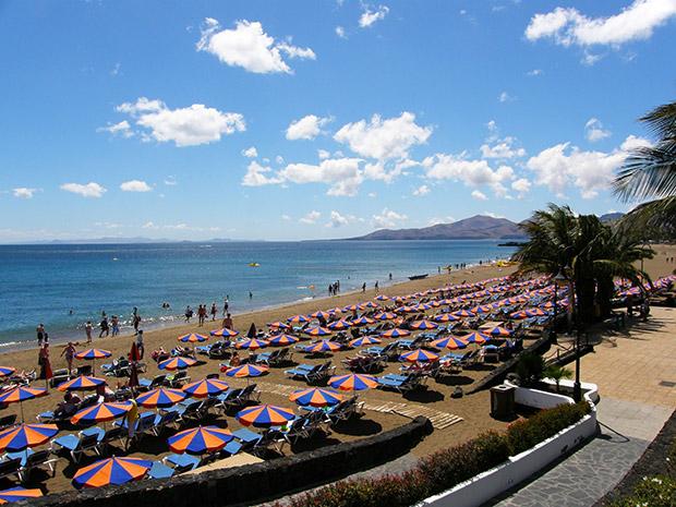 Puerto del Carmen: Playa Grande, Lanzarote