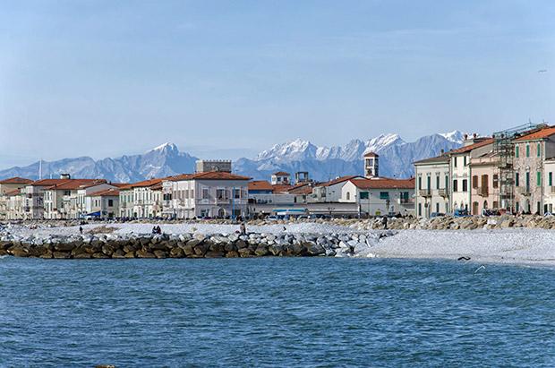 Marina di Pisa, Toscane