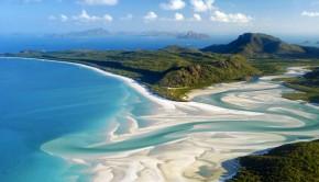 Whitehaven Beach Whitsundays Australië