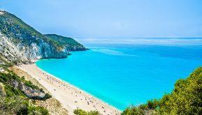 Milos Beach, Lefkas