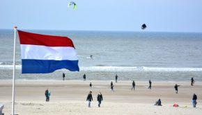 Strand Bergen aan Zee, Nederland